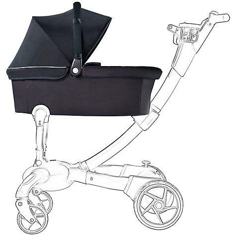 Buy 4Moms Origami Carrycot, Black Online at johnlewis.com