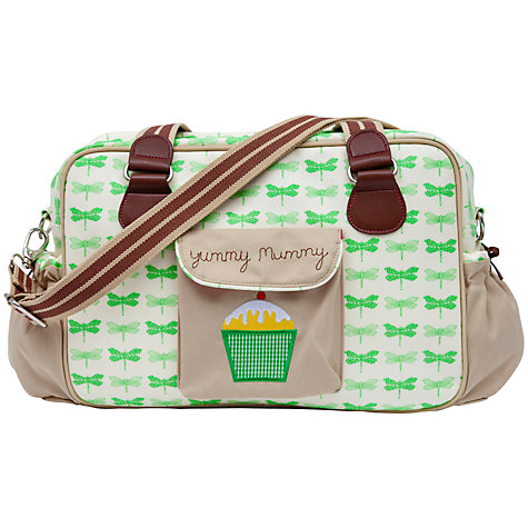 Buy Pink Lining Yummy Mummy Changing Bag, Dragonflies Online at johnlewis.com