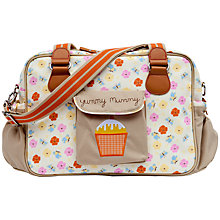 Buy Pink Lining Yummy Mummy Changing Bag, Pansies Online at johnlewis.com