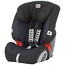 Buy Britax Evolva 123 Plus Car Seat, Black Thunder Online at johnlewis.com