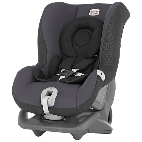 Buy Britax First Class Plus Rearward Facing Car Seat, Black Thunder Online at johnlewis.com