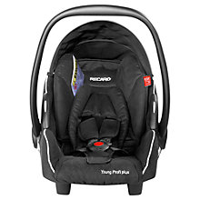 Buy Recaro Young Profi Plus Infant Carrier, Black Online at johnlewis.com