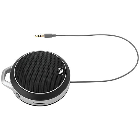 Buy JBL Micro Wireless Portable Speaker, Black Online at johnlewis.com