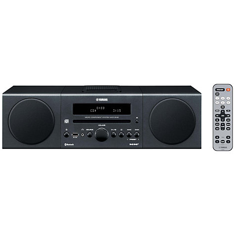 Buy Yamaha MCR-B142 Wireless DAB/FM/CD Micro System/iPod Dock Online at johnlewis.com