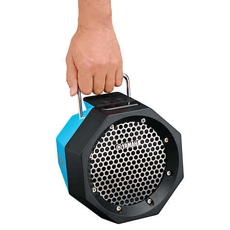 Buy Yamaha PDX-B11 Wireless Speaker, Blue Online at johnlewis.com