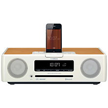 Buy Yamaha TSX-B232 Wireless DAB/FM/CD Micro System/iPod Dock Online at johnlewis.com