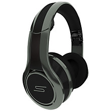 Buy SMS Audio DJ Pauly D STREET by 50 Cent Full Size Headphones, Grey Online at johnlewis.com