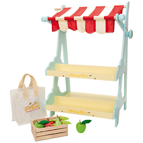 Buy Le Toy Van Market Stall Set Online at johnlewis.com