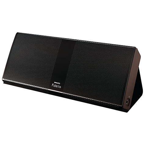 Buy Philips Fidelio P9 Wireless Portable Speaker, Black Online at johnlewis.com