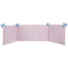 Buy John Lewis La Rochelle Bumper, Red Online at johnlewis.com