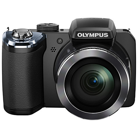 "Buy Olympus SP-820UZ Bridge Camera, HD 1080p, 14MP, 40x Optical Zoom, 3"" Screen, Black Online at johnlewis.com"