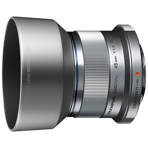 Buy Olympus M.ZUIKO DIGITAL 45mm f/1.8G Standard Lens Online at johnlewis.com