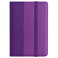 Buy Belkin Verve Folio with Stand for iPad mini, Purple Online at johnlewis.com