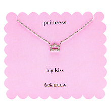 Buy Little Ella Princess Necklace Online at johnlewis.com
