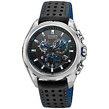 Buy Citizen AT7030-05E Proximity Men's Bluetooth Exo-Drive Chronograph Watch Online at johnlewis.com