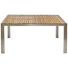Buy John Lewis Homestead 6 Seater Rectangular Outdoor Dining Table Online at johnlewis.com