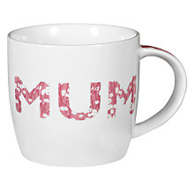"Buy John Lewis ""Mum"" Mug Online at johnlewis.com"