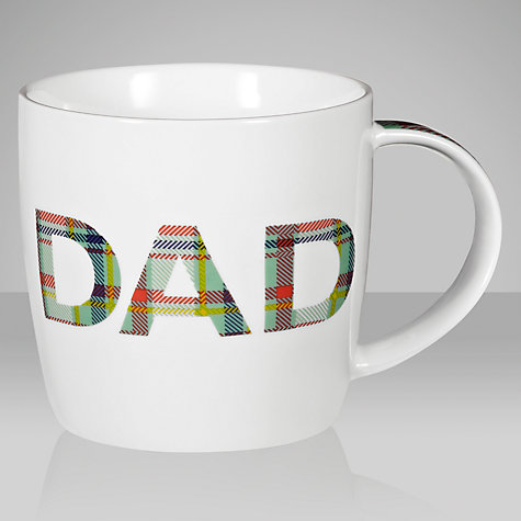 "Buy John Lewis ""Dad"" Mug Online at johnlewis.com"
