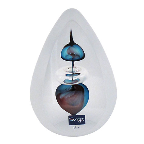 Buy Svaja Porto Santo Paperweight, Blue / Violet Online at johnlewis.com