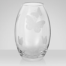 Buy John Lewis Butterflies Vase Online at johnlewis.com