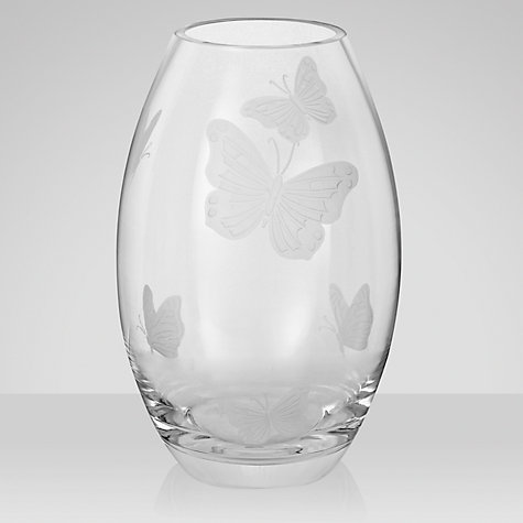 Buy John Lewis Butterflies Barrel Vase Online at johnlewis.com