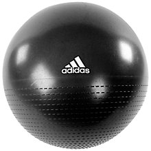 Buy Adidas Core Gym Ball, Black, 75cm Online at johnlewis.com