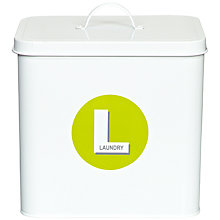 Buy John Lewis Brights Laundry Box Online at johnlewis.com