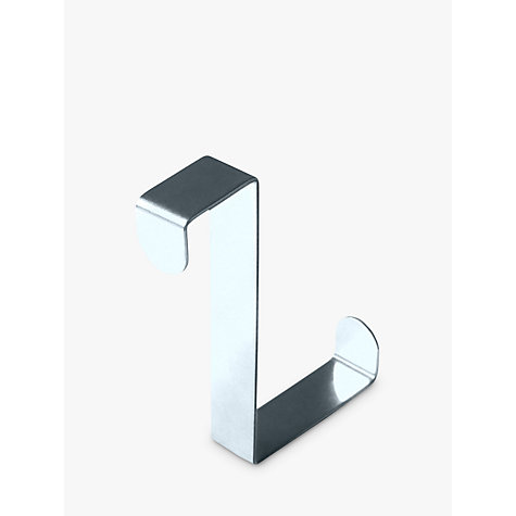 Buy Wenko Stainless Steel Door Hooks, Pack of 6 Online at johnlewis.com