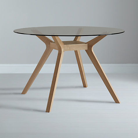 Buy John Lewis Akemi Round 4 Seater Dining Table Online At Johnlewis