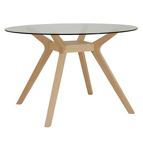 John Lewis Akemi Round 4 Seater Dining Table Online At