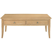 Buy John Lewis Claremont 2-drawer Coffee Table Online at johnlewis.com