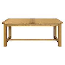 Buy John Lewis Pendleton 6-8 Seater Extending Dining Table, Oak Online at johnlewis.com