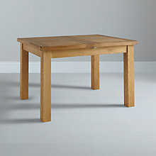 Buy John Lewis Pendleton 4-6 Seater Extending Dining Table, Oak Online at johnlewis.com