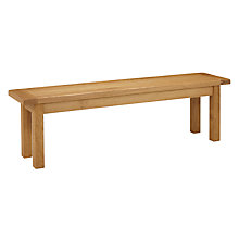 Buy John Lewis Pendleton Bench, Oak Online at johnlewis.com