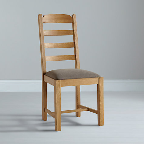 Buy John Lewis Pendleton Dining Chair, Fabric Seat Online at johnlewis.com