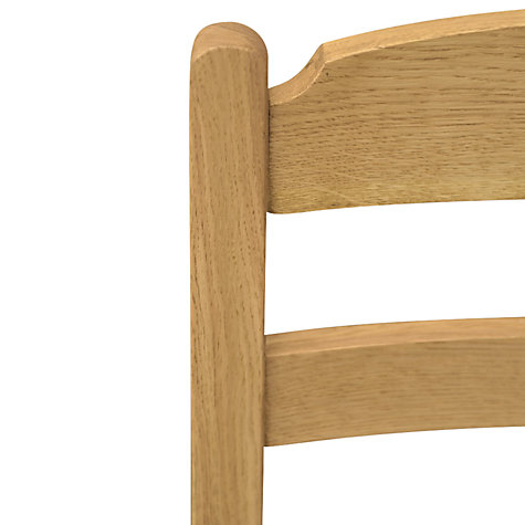 Buy John Lewis Pendleton Dining Chair, Leather Seat Online at johnlewis.com