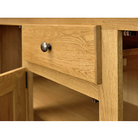 Buy John Lewis Pendleton 3-door Sideboard, Oak Online at johnlewis.com