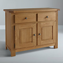 Buy John Lewis Pendleton 2-door Sideboard, Oak Online at johnlewis.com
