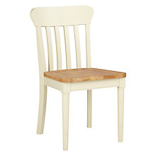 Buy John Lewis Drift Dining Chair, Cream Online at johnlewis.com
