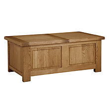 Buy John Lewis Pendleton Trunk Coffee Table, Oak Online at johnlewis.com