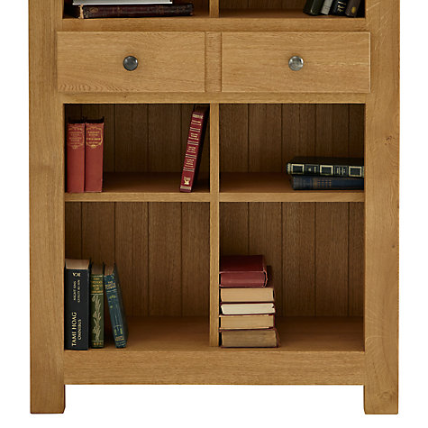 Buy John Lewis Pendleton Bookcase, Oak, H200cm Online at johnlewis.com