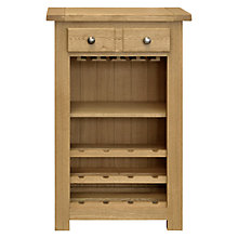Buy John Lewis Pendleton Wine Storage Cabinet, Oak Online at johnlewis.com