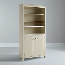 Buy John Lewis Drift Bookcase, Cream Online at johnlewis.com