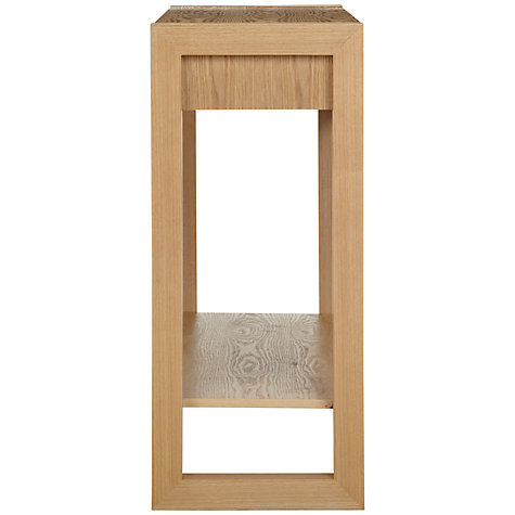 Buy john lewis logan console table with shelf john lewis for Sofa table john lewis