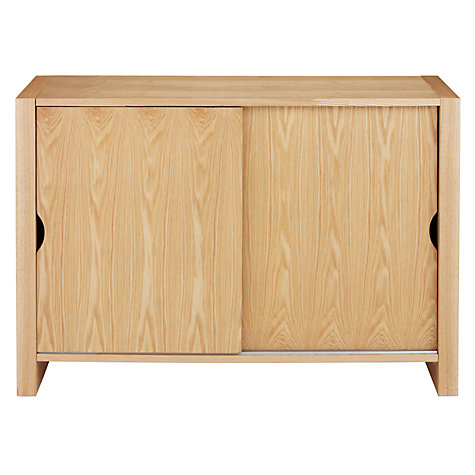 Buy John Lewis Logan Sideboard with 2 Sliding Doors Online at johnlewis.com