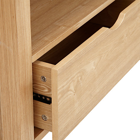 Buy John Lewis Logan 2-drawer Media Unit for TVs up to 51-inch Online at johnlewis.com