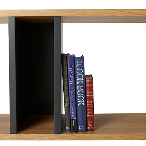 Buy Content by Conran Counterbalance Wide Bookcase Online at johnlewis.com