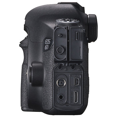 "Buy Canon EOS 6D Digital SLR Camera, HD 1080p, 20.2MP, GPS, 3"" LCD Screen, Body Only Online at johnlewis.com"