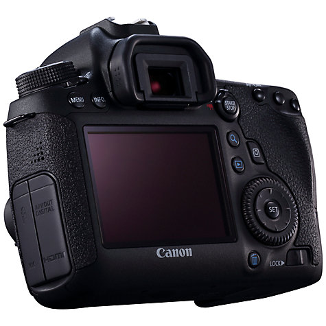 Canon EOS 6D Digital SLR Camera  HD 1080p  20 2MP  GPS  3 quot  LCD Screen    Canon Hd Camera 1080p
