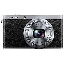"Buy Fujifilm XF1 Digital Camera, HD 1080p, 12MP with 3"" LCD Screen, Black Online at johnlewis.com"